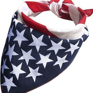 Cool étoiles USA Amérique drapeau Mesdames bande de cheveux Head Band Bandeau Bandana écharpe