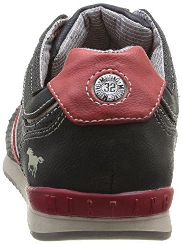 Mustang 4091301, Baskets mode homme Noir (9 Schwarz)