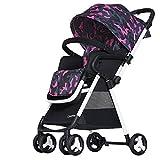 SUBBYE Kinderwagen Baby-Spaziergänger-Licht Portable High Landscape kann sitzen Zwei-Wege-Falt-Umbrella Cart Baby-Kinderwagen ( Farbe : #3 )