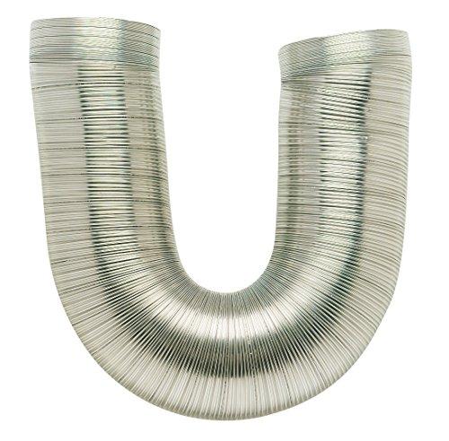 Dmo - Gaine alu flexible extensible / LS - Extensible de 0,45 à 1,50 m - øint 150 mm