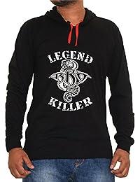 Riddhi Siddhi Graphics Hoodies Printed T-Shirt Legend Killer