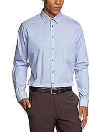 Schwarze Rose Herren Slim Fit Businesshemd MODERN KENT 229450