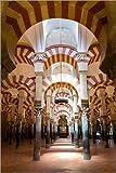 Poster 80 x 120 cm: Große Moschee von Cordoba - La