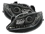 AD Tuning GmbH & Co. KG Scheinwerfer Set mit LED Tagfahrlicht Optik in Schwarz