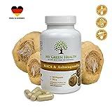 Maca Kapseln Ashwagandha Kapsel vegan für Fruchtbarkeit und Energie 120 Stück