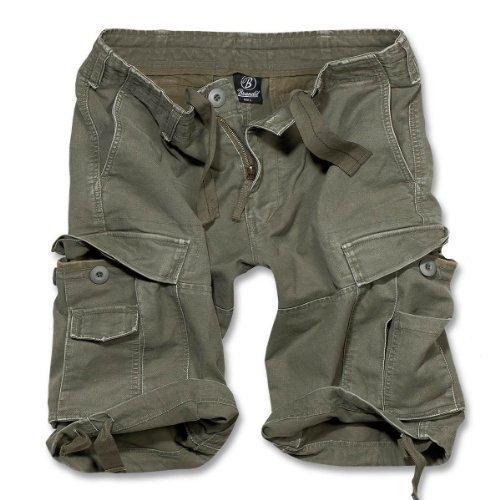 Brandit Vintage Short Oliv L (Cargo-shorts Casual)