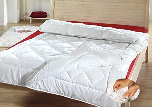 4-Jahreszeiten Steppbett Bettdecke 155x220 cm