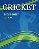 Cricket - Score Sheet Log Book