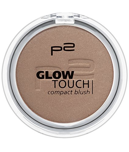 p2 cosmetics Glow Touch Compact Blush 050, 3er Pack (3 x 5 g)