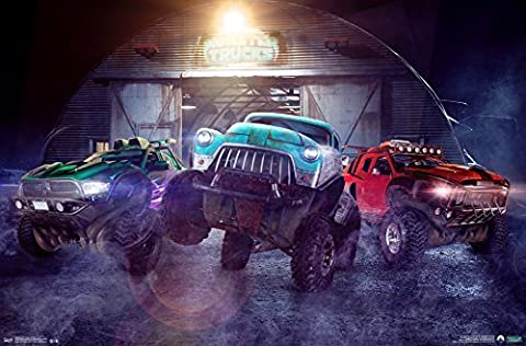 Monster Trucks - Monster Inside Poster 34 x 22in by Unknown