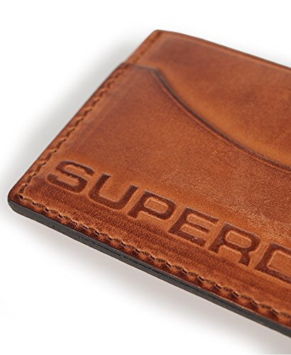 Superdry Leather Card Holder (Brown) Image 5
