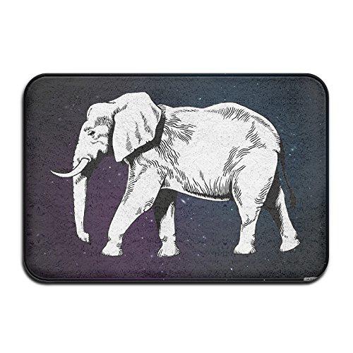 Elefante africano personalizado puerta alfombrillas