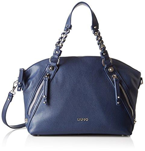 Liu jo shoulder bag champagne blau