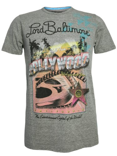 LORD BALTIMORE Herren Designer Shirt - HOLLYWOOD -S -