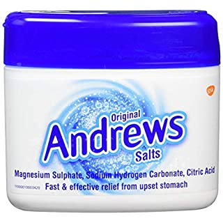 Andrews Original Salts 150g Each - Fast & Effective Relief From Upset Stomach (Pack of 3)