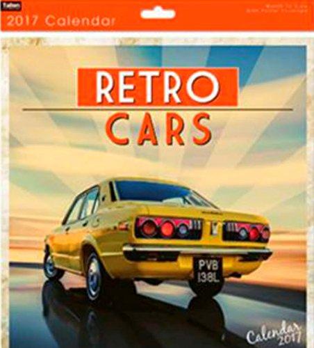 TALLON 2017 SQUARE CALENDAR RETRO CARS DESIGN - 12 PHOTOS - 0571 RETRO