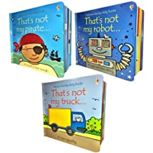 Usborne That's Not My- Boy's Pack 3 Books Set Collection