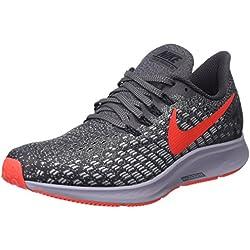 Nike Air Zoom Pegasus 35, Zapatillas de Running para Hombre, Gris