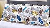 HJHY Cuscino, cuscino di cura del collo Grande schienale del divano del triangolo Cuscino dell'ammortizzatore del cuscino lombare rimovibile Lavabile, sporco ( Colore : #2 , dimensioni : 90x50x20cm )