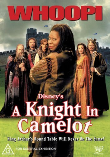 A Knight in Camelot by Whoopi Goldberg Camelot Film-dvd