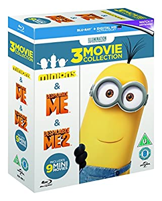 Minions Collection (Despicable Me/Despicable Me 2/Minions) [Blu-ray] [2015]