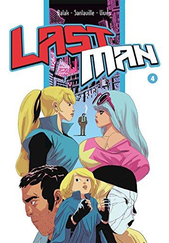 Last man. Con adesivi: 4