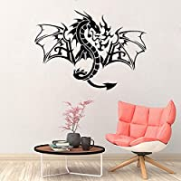 haochenli188 Car Tribal Chineses Dragon Hood Decals Vinyl Side Decor stickers Fantasy Gothic Car Auto Window Vinyl Decal Sticker Mural 57x71cm