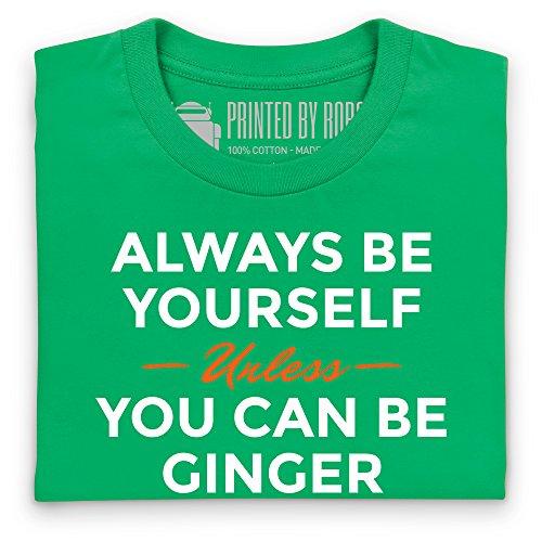 Always Be Ginger T-Shirt, Herren Keltisch-Grn