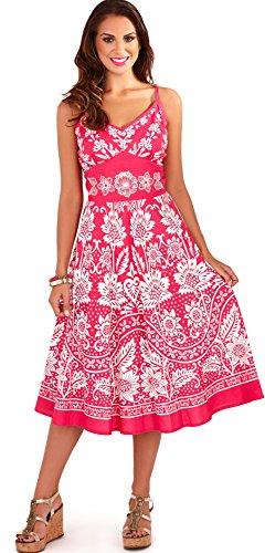 Dannii Matthews Gorgeous Ladies Strappy Sleeveless Summer Sun Dress, Various Styles