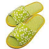 TWINS Fashion « Valencia » schöne & süße Damen-Hausschuhe I Latschen I Pantoffeln I Slippers - Plüsch Baumwolle rutschfest - diverse Farben (38/39, Grün)