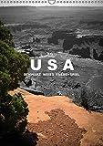 USA - Schwarz weiss Farbenspiel (Wandkalender 2016 DIN A3 hoch): Faszination USA - Mona Stut zeigt 14 Amerikaimpressionen, Momentaufnahmen, bildschöne ... (Monatskalender, 14 Seiten) (CALVENDO Kunst)