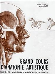 Grand Cours d'Anatomie Artistique : Hommes, Animaux, anatomie comparée