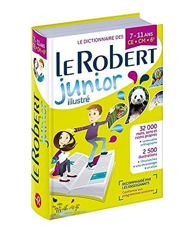 Dictionnaire Le Robert Junior illustré - 7/11 ans -