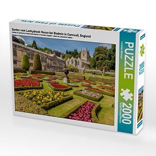 CALVENDO 4059478953055 Garten vom Lanhydrock House bei Bodmin in Cornwall, England 2000 Te Preisvergleich