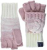 Superdry Damen Handschuhe Clarrie Cable Mittens, (Sandy Pink Ombre Wb1), One Size (Herstellergröße: OS)