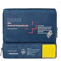 Holthaus Medical mini COMBI Motorrad Verbandtasche Erste-Hilfe-Tasche, 17x10x3,5cm, DIN 13 167 u. Warnweste preisvergleich bei billige-tabletten.eu