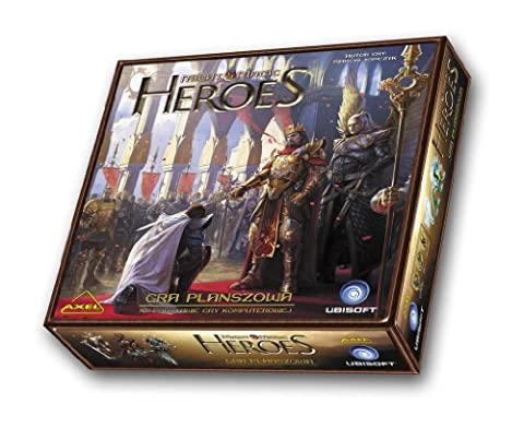 Axel MMHBG - Might & Magic Heroes Brettspiel, Englisch