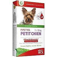 vétobiol pipetas pequeño perro 1A 10kg 4pipetas