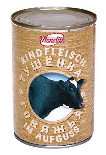 """Preisvergleich Produktbild Monolith Rindfleisch im würzigen Aufguss""""Tuschenka"""",  5er Pack (5 x 400 g)"""