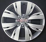 Lot de 4 Enjoliveurs Enjoliveur Boutons Clous de voiture Coupes Rivets Roue Peugeot 208 r 15 depuis 2012 (Sc 807)