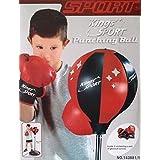 Saving Basket Kings Sport Boxing Punching Bag With Gloves Punch Boxing Set/ Ball Set For Kids