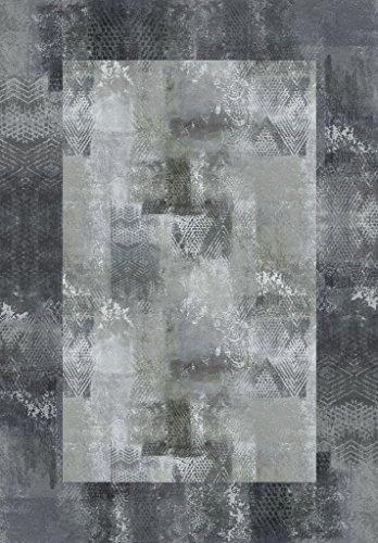 Vilber New Classic Alfombra, Vinilo, Gris, 153x200x0.2cm