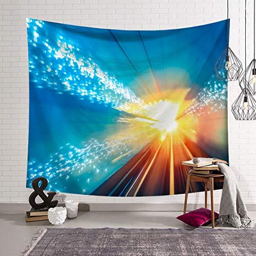 Soorl arazzi arazzi di stelle colorate tappezzerie da parete tappezzerie da tappezzeria per soggiorno camera da letto agriturismo arredamento geometrico