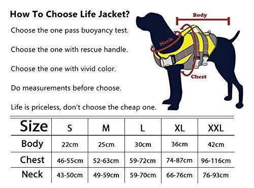 Dog Helios Verstellbare, reflektierende Hundeweste mit Rettungshandgriff, Outdoor, Schnellverschluss, einfache Passform, hohe Schwimmfähigkeit, Hundeschutz - 3