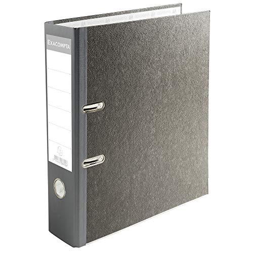 Exacompta 53710E - Archivador palanca papel jaspeado