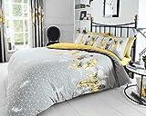 Inspire Parure de lit avec Housse de Couette et taie d'oreiller Design Premium Design...