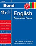 Bond English Assessment Papers 9-10 Years Book 1