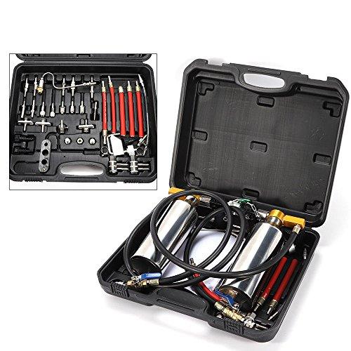 SENDERPICK Non-dismantle Fuel Injector Cleaner Kit und Tester, Injektor Reiniger Werkzeug für Benzin EFI Throttle Benzin Autos (Fuel Injector Cleaner Kit)