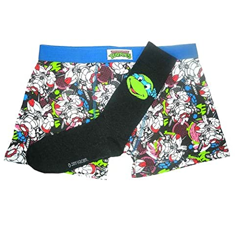 Teenage Mutant Ninja Turtles - Boxershort and Socks Set Turtles (in S)