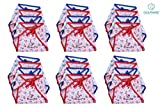#3: Dolphers U Shaped New Born Baby Nappy Set of 24 pcs / Cotton Cloth Diapers / Langot for Babies # 0-3 months # Single Layer Nappies # Washable and Reusable # Pack of 24